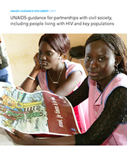 UNAIDS Guidance for Partnership with Civil Society, Including People Living with HIV and Key Populations