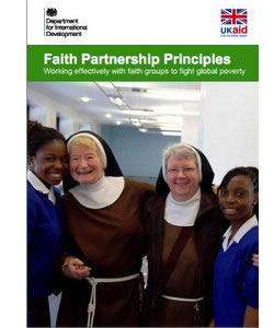Faith Partnership Principles: Working Effectively With Faith Groups to Fight Global Poverty