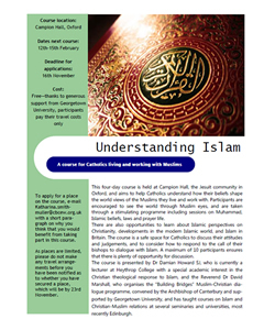 Understanding Islam: A Course for Catholics Living and Working with Muslims