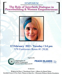 The Role of Interfaith Dialogue in Peacebuilding & Women Empowerment