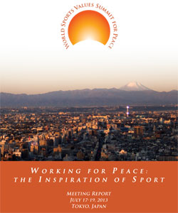 Working for Peace: The Inspiration of Sport
