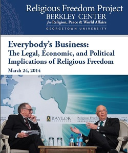 Everybody's Business: The Legal, Economic, and Political Implication of Religious Freedom