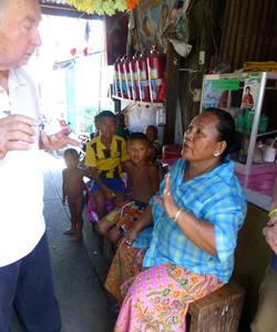 Slum Priest in Bangkok