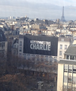 Charlie Hebdo on the Ground