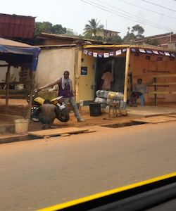 Sharing Rides in Yaoundé