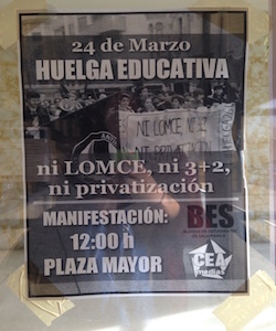 Huelgas Educativas (Education Strikes)