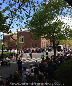 """""""Why Can't We All Just Get Along?"""" Georgetown Students Unite Against Bigotry"""