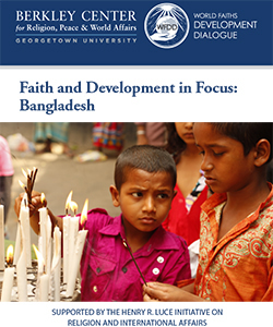 Faith and Development in Focus: Bangladesh