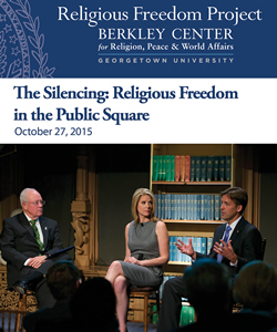 The Silencing: Religious Freedom in the Public Square