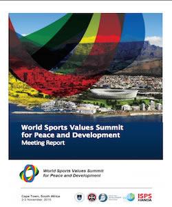 2015 World Sports Values Summit Report