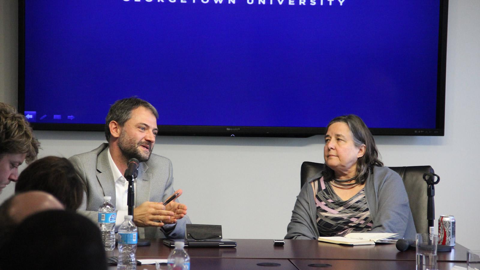 Mauro Garofalo discusses the peacebuilding work of Sant'Egidio.