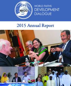 WFDD 2015 Annual Report