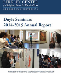 Doyle Seminars 2014-2015 Annual Report