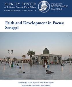 Faith and Development in Focus: Senegal