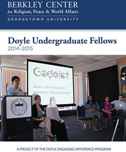Doyle Undergraduate Fellows 2014-2015