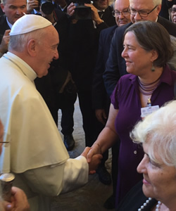 "Marshall at Sant'Egidio ""Thirst for Peace"" Conference in Assisi"