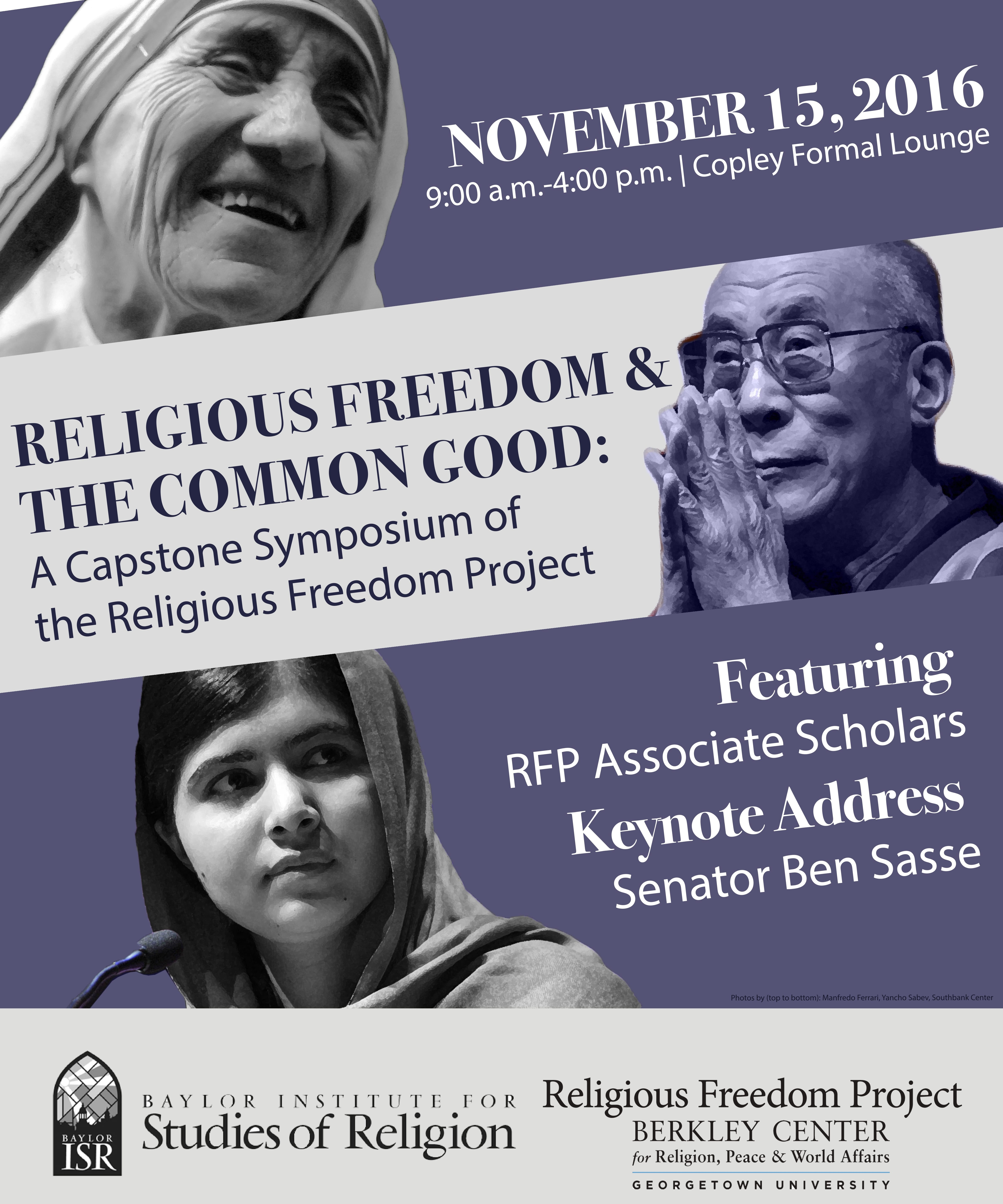 Religious Freedom and the Common Good: A Symposium of the Religious Freedom Project