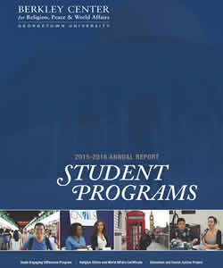 Student Programs 2015-2016 Annual Report