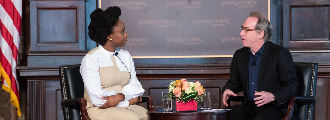 Award-Winning Author Adichie at Georgetown