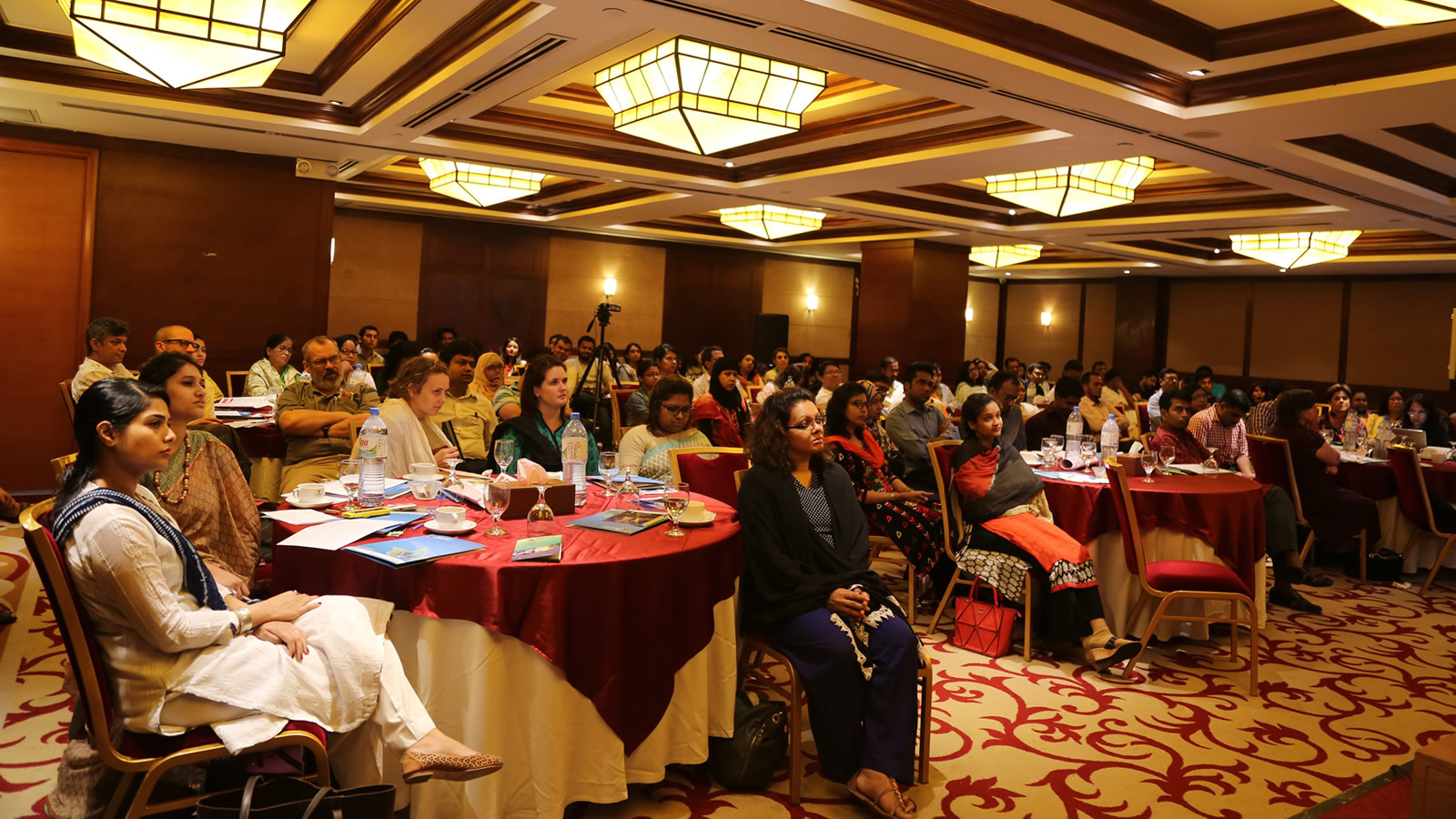 Audience Listening at Speakers Forum on Faith, Mental and Emotional Well-Being