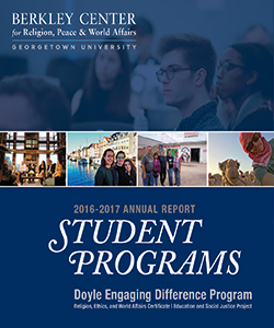 Student Programs 2016-2017 Annual Report