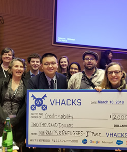 Georgetown Team Wins at Vatican Hackathon