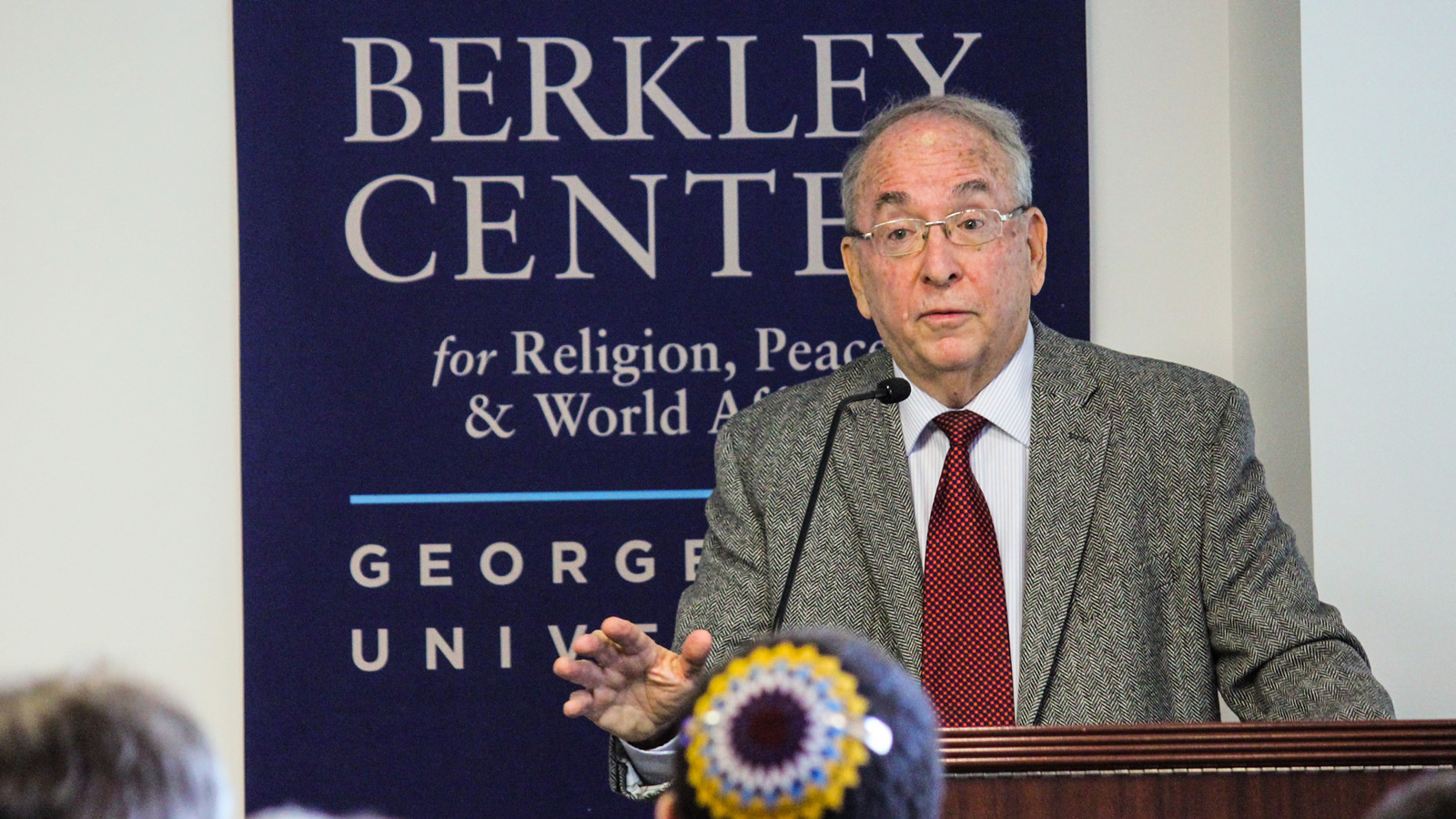 Rabbi Dr. Ron Kronish talks about his experiences with interreligious dialogue
