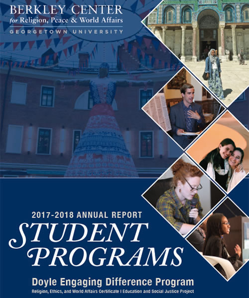 Berkley 2017-2018 Student Programs