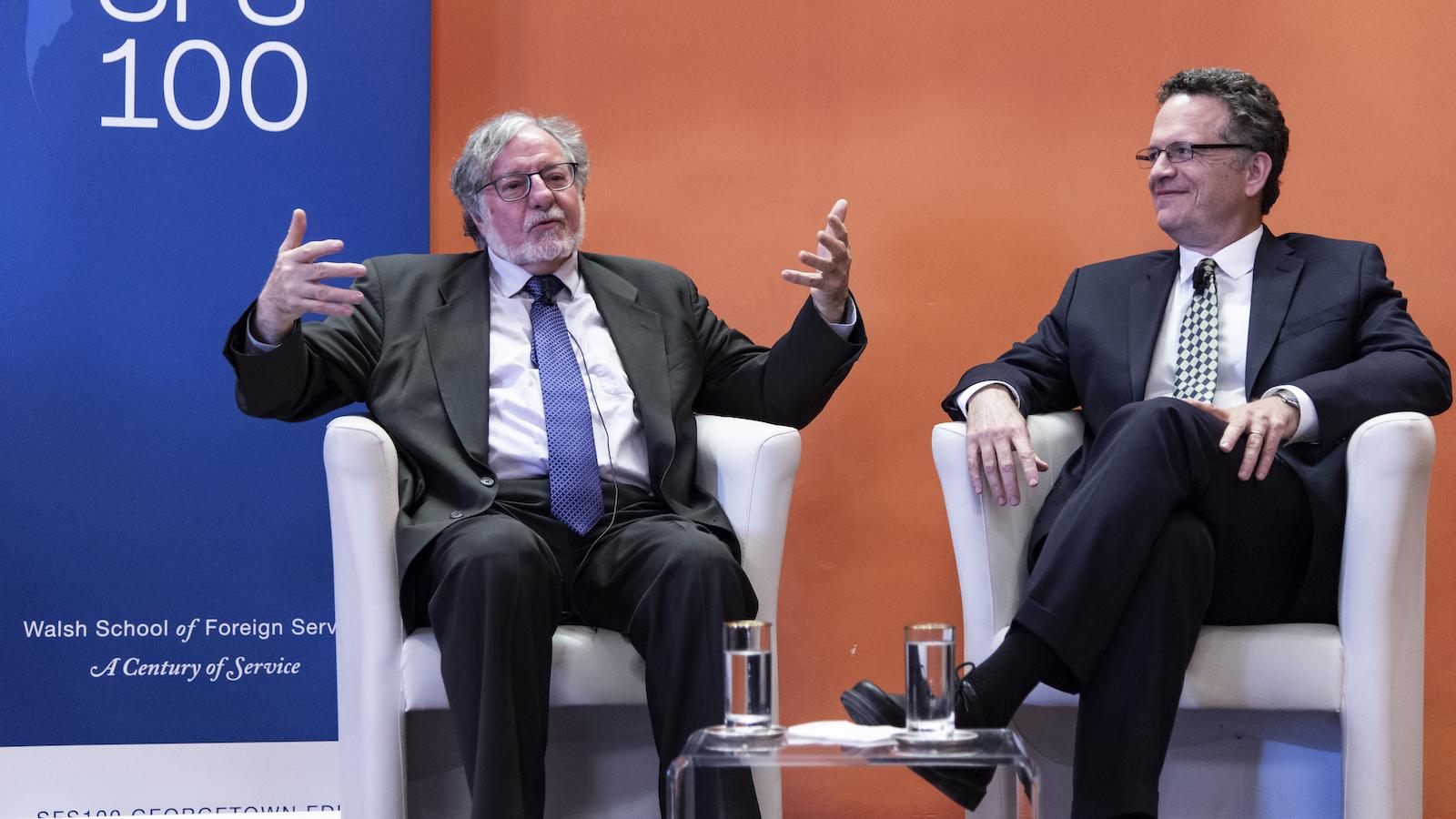 José Casanova and Thomas Banchoff in conversation