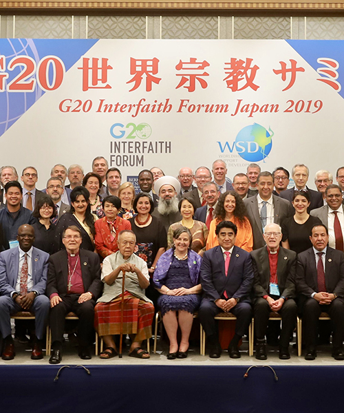 G20 Interfaith Forum participants