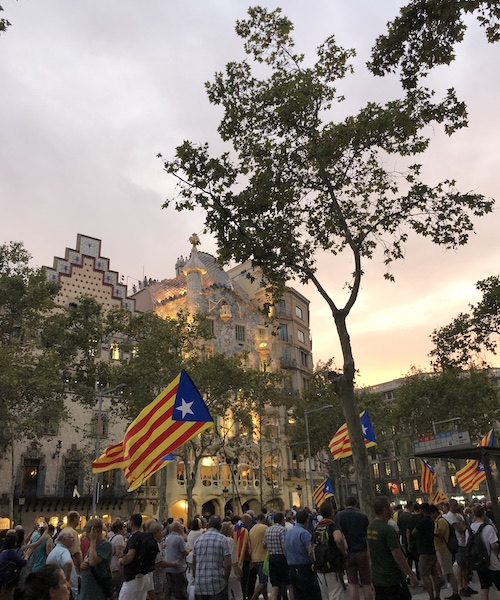 Claiming Catalonian Independence
