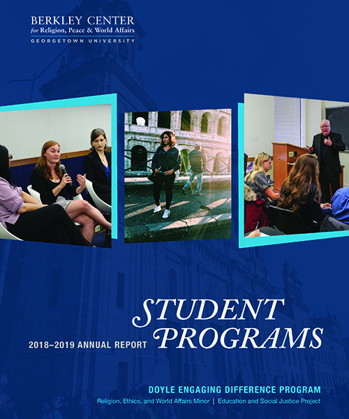 Student Programs 2018-2019 Annual Report