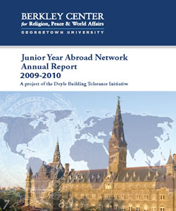 Junior Year Abroad Network Annual Report 2009-2010