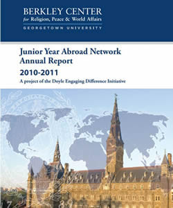 Junior Year Abroad Network Annual Report 2010-2011
