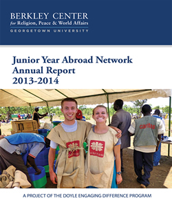 Junior Year Abroad Network Annual Report 2013-2014