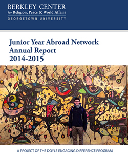 Junior Year Abroad Network Annual Report 2014-2015