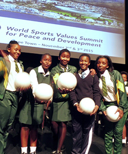 World Sports Values Summit for Peace and Development 2015