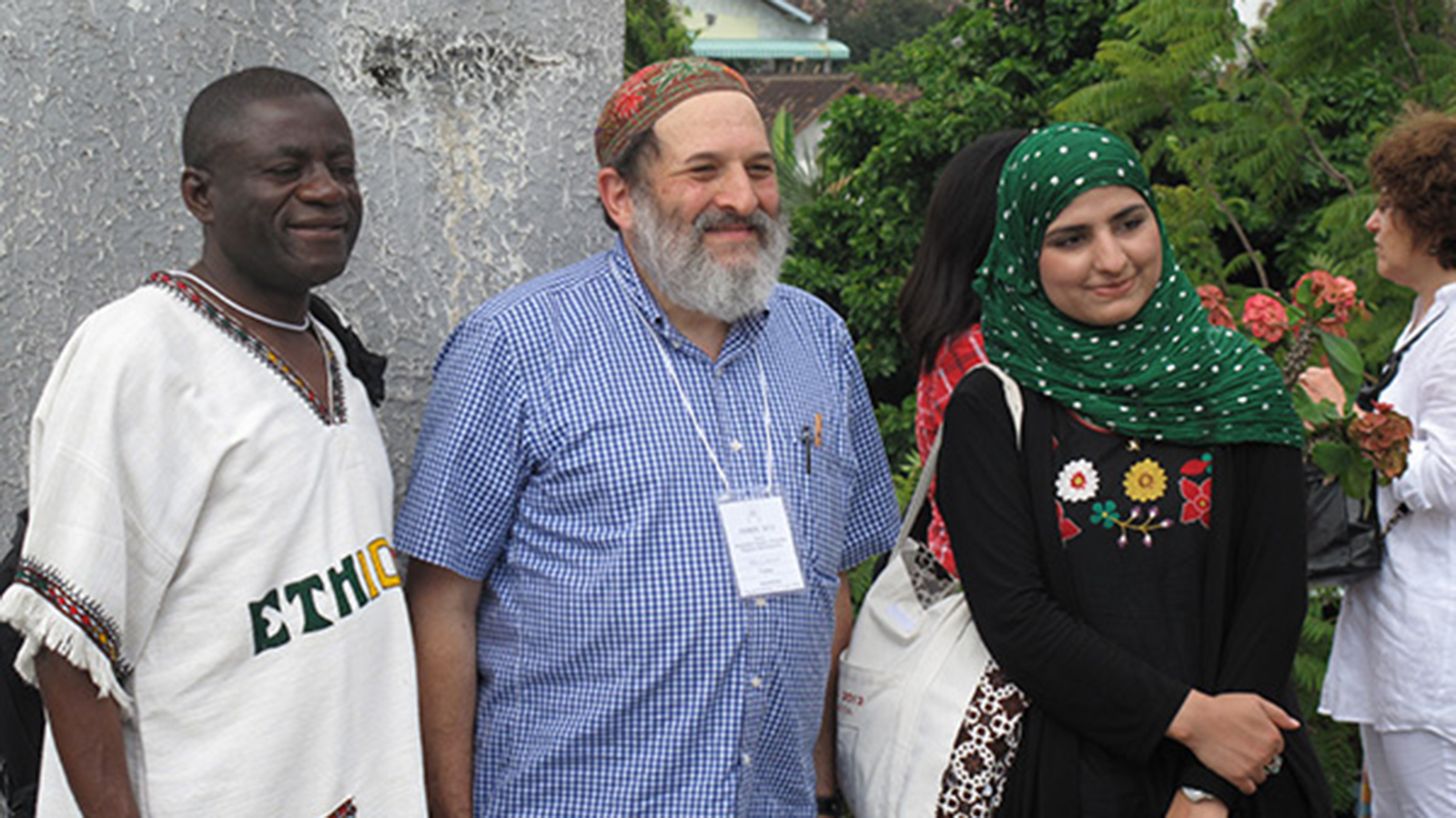 Adam Seligman with CEDAR program participants in 2012.