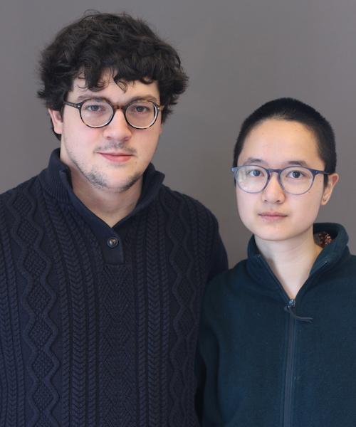 Andrew Brown and Rebecca Ngu