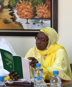 A Discussion with Adja Arame Dite Aminata Seck, Member of the Superior Islamic Council of Senegal