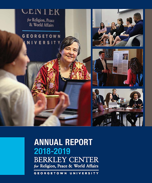 report cover with images of faculty and students