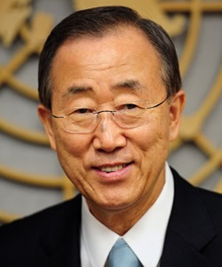 Ban Ki-moon on Partnerships to Protect the Environment