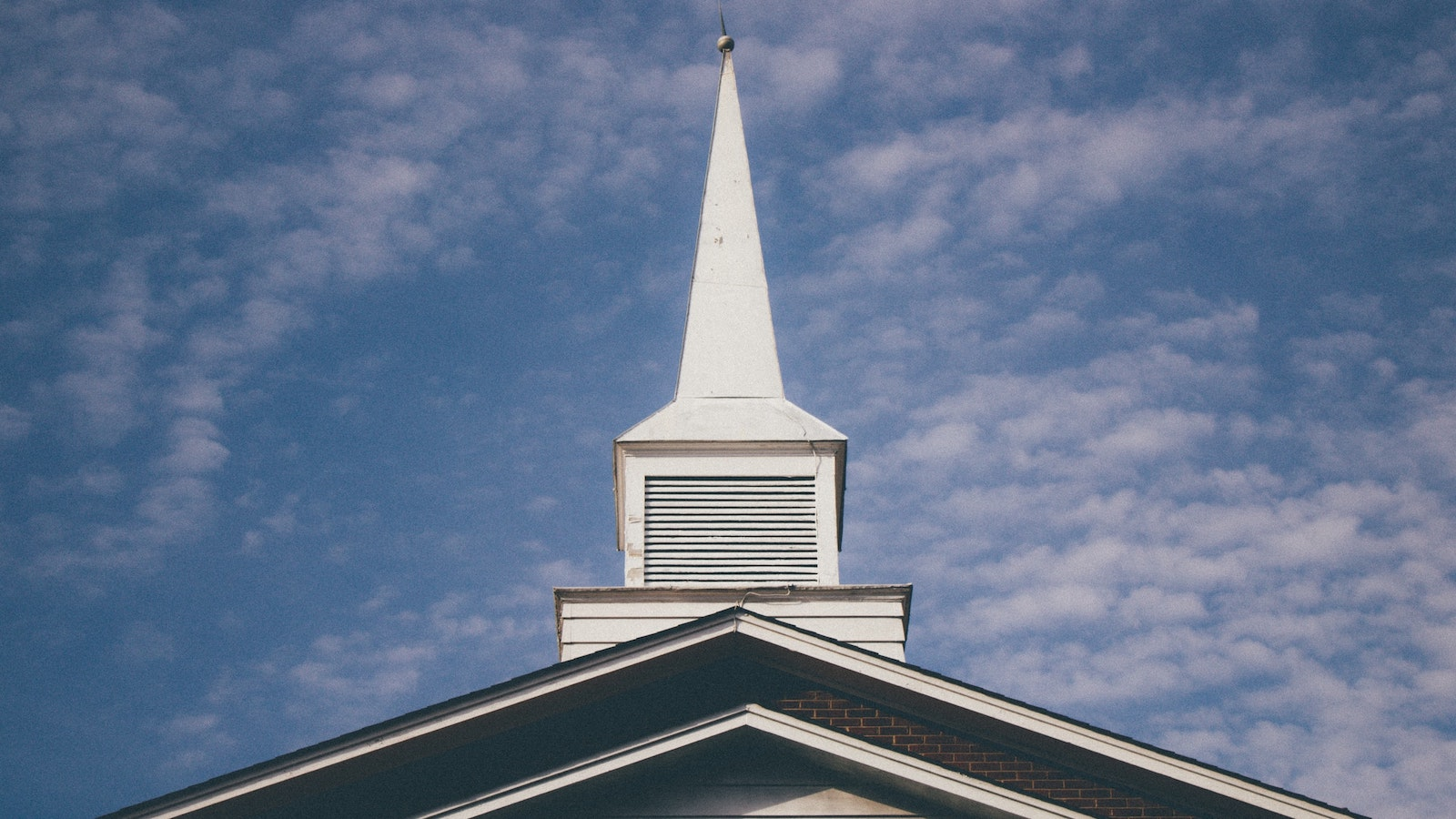 Steeple of a Baptist church
