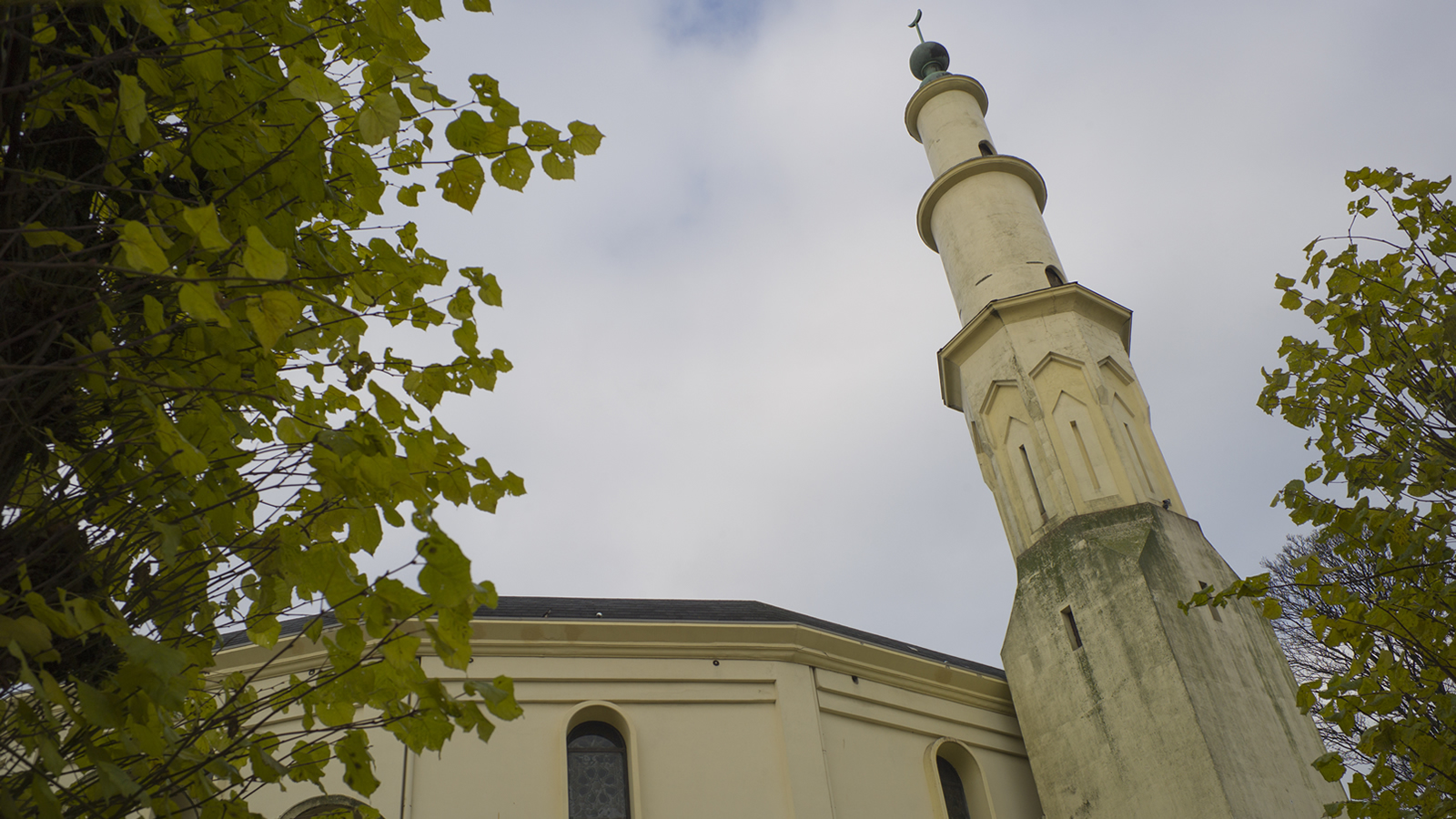 Grand Mosque in Brussels, Belgium