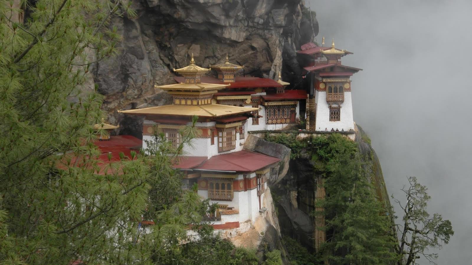 Taktsang Buddhist Monastery in Bhutan