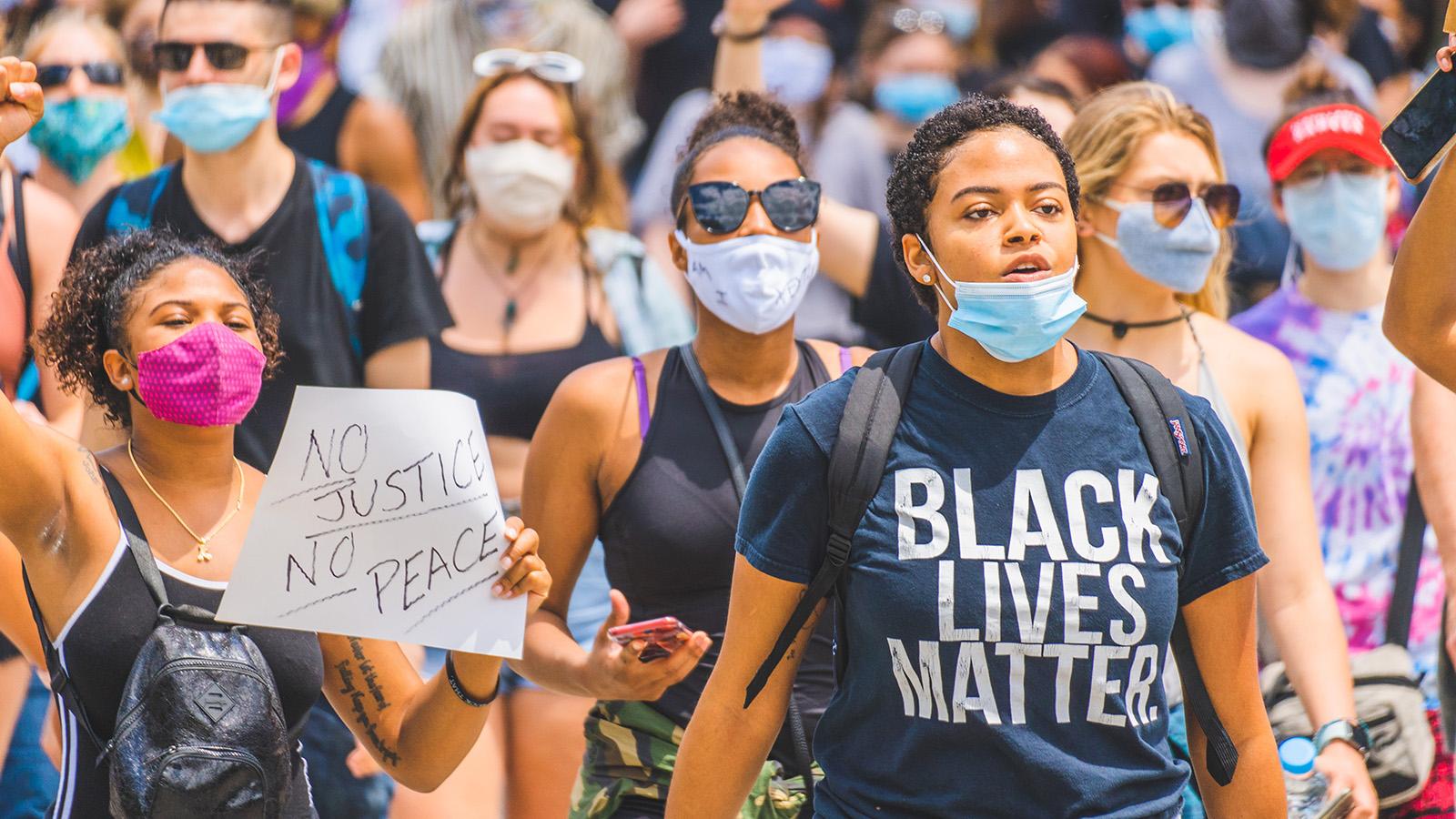 Black Lives Matter protesters.