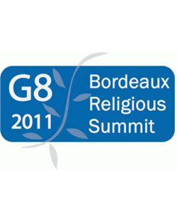 Bordeaux G8 Religious Leaders Summit 2011