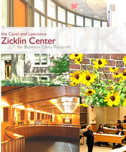 Carol and Lawrence Zicklin Center for Business Ethics Research