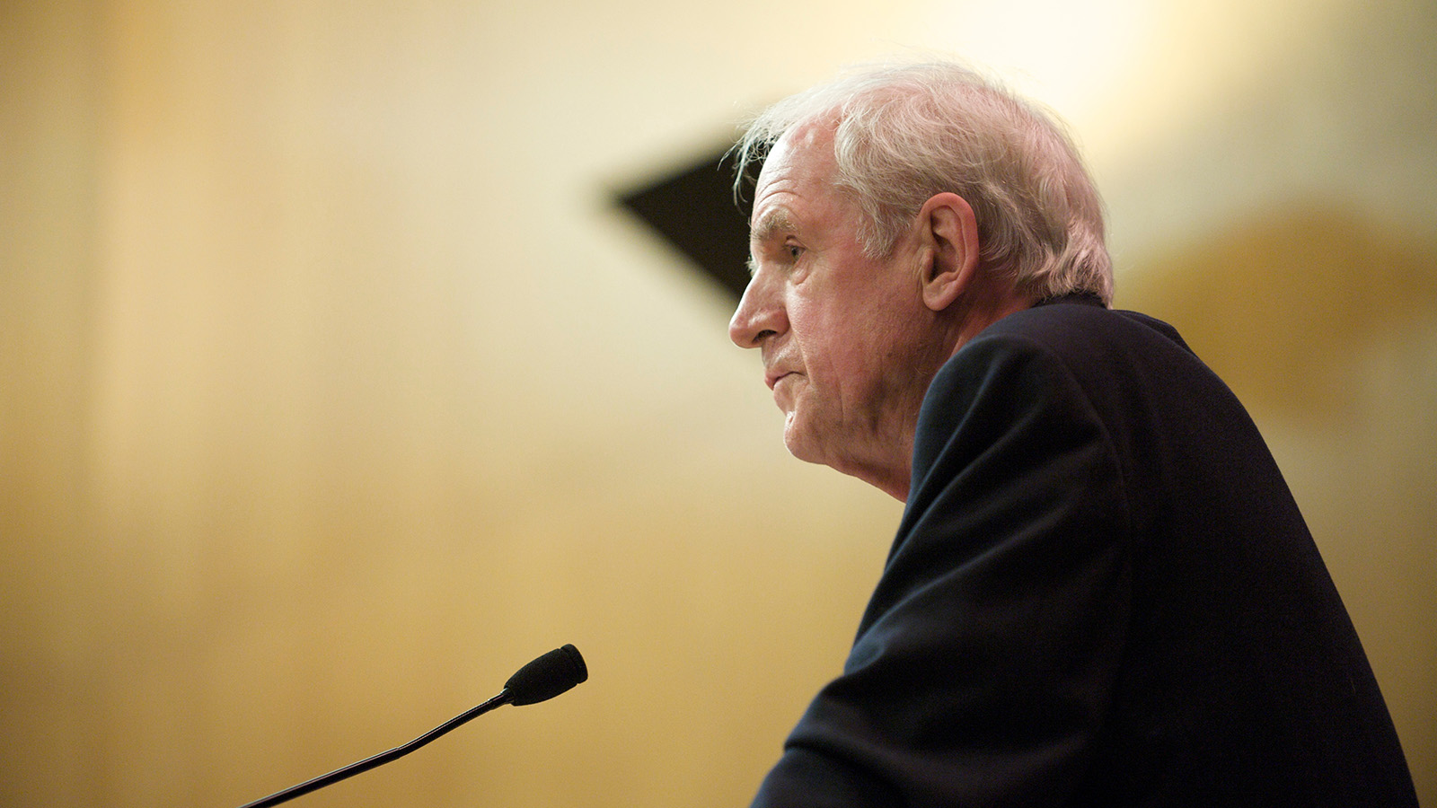 Charles Taylor lectures on secularism and globalization.