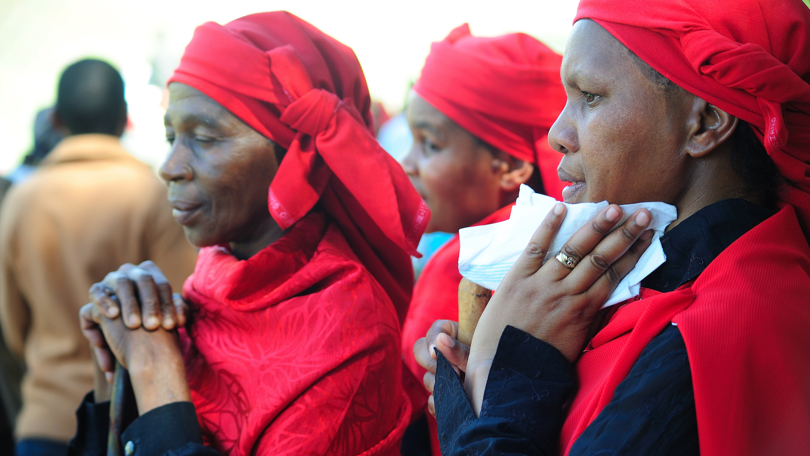 Christian women in South Africa